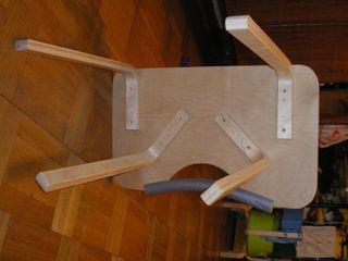 Столик снизу